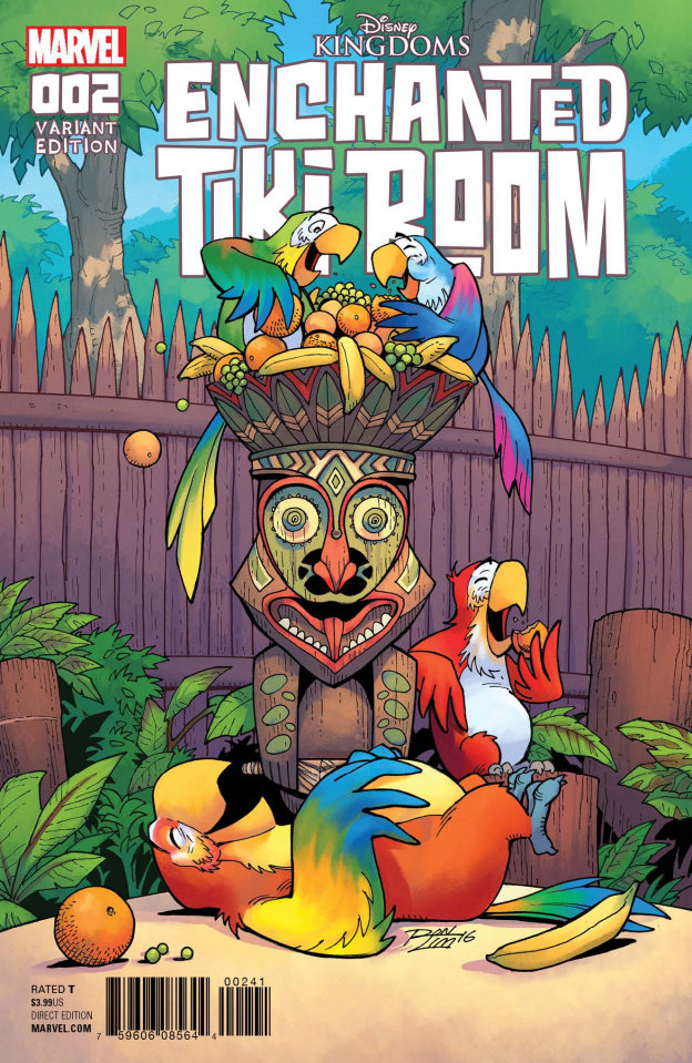 Enchanted Tiki Room #2 (Lim Cover)