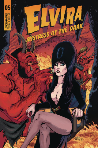 Elvira: Mistress of the Dark #5 (Cermak Cover)