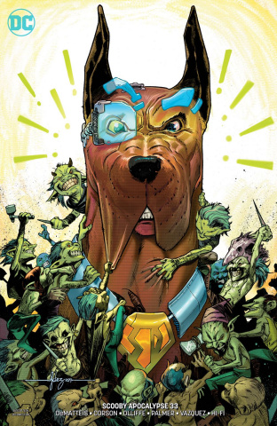 Scooby: Apocalypse #33 (Variant Cover)