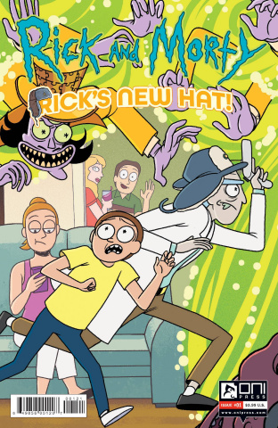 Rick and Morty: Rick's New Hat #1 (Stern Cover)