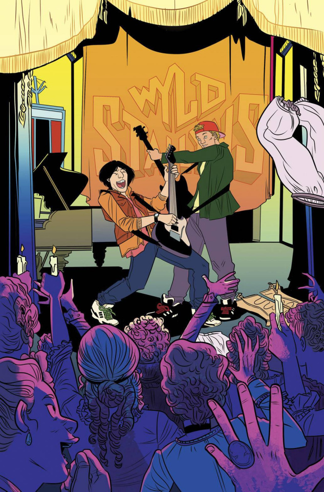 Bill & Ted's Most Triumphant Return #3 (20 Copy Hend Cover)