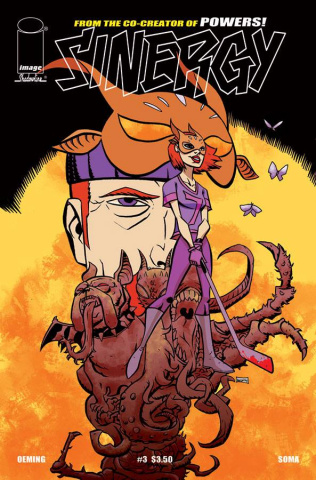 Sinergy #3 (Oeming Cover)