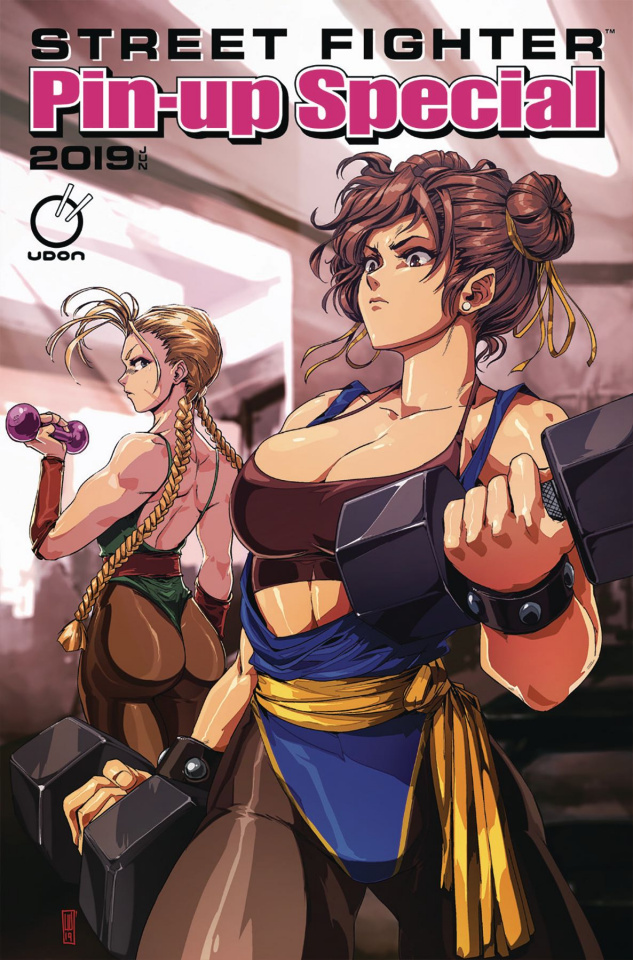 Street Fighter 2019 Pin-Up Special #1 (Liu Cover)