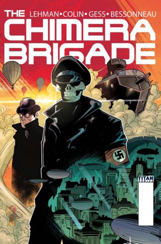 The Chimera Brigade #2 (Di Meo Cover)