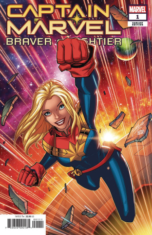 Captain Marvel: Braver & Mightier #1 (Lim Cover)