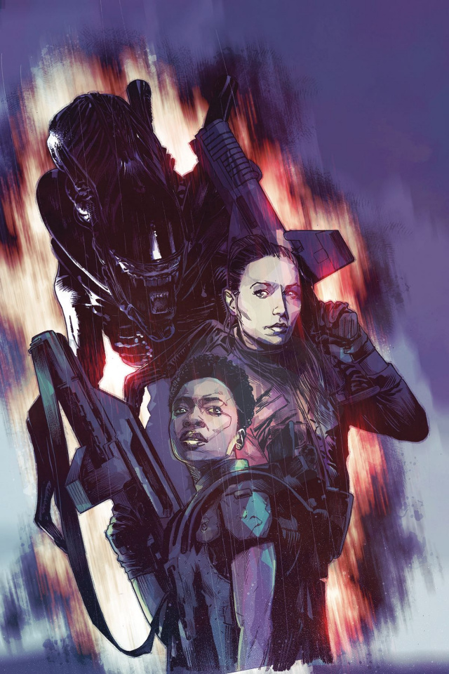 Aliens: Rescue #2 (Chater Cover)
