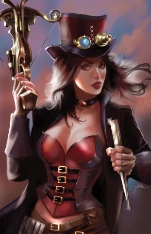 Grimm Fairy Tales: Robyn Hood - I Love NY #7 (Delara Cover)