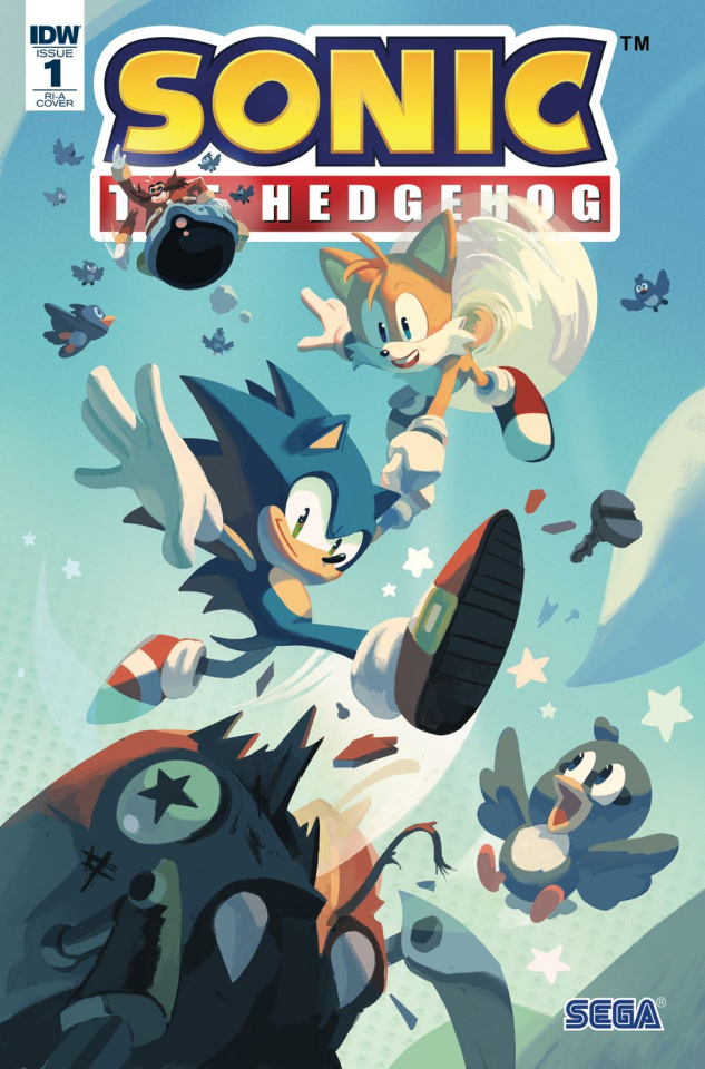 Sonic the Hedgehog #1 (10 Copy Cover)