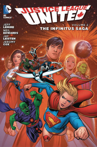 Justice League United Vol. 2: The Infinitus Saga