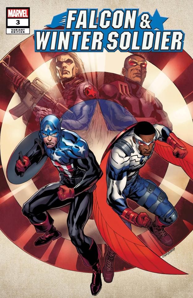 Falcon & Winter Soldier #3 (Cory Smith Cover)