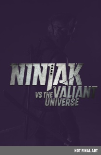 Ninjak #0 (Ninjak vs. the Valiant Universe Cover)