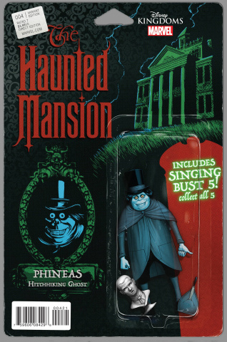 The Haunted Mansion #4 (Christopher Action Figure Cover)