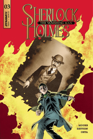 Sherlock Holmes: The Vanishing Man #3 (Cassaday Cover)