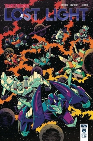 The Transformers: Lost Light #6 (10 Copy Cover)