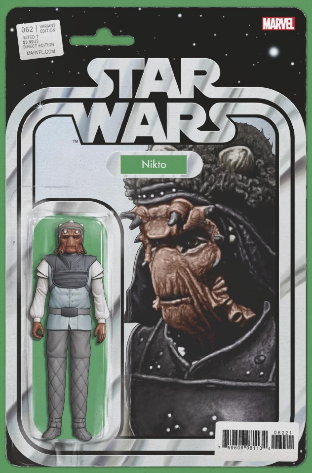 Star Wars #62 (Christopher Action Figure Cover)