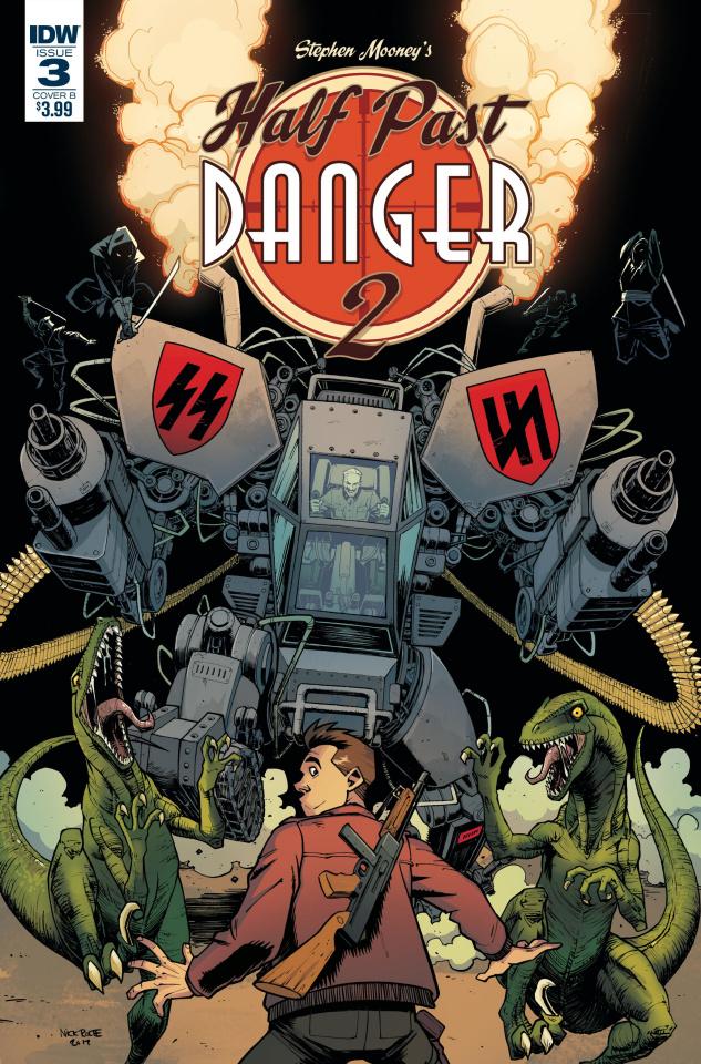 Half Past Danger II: Dead to Reichs #3 (Roche Cover)