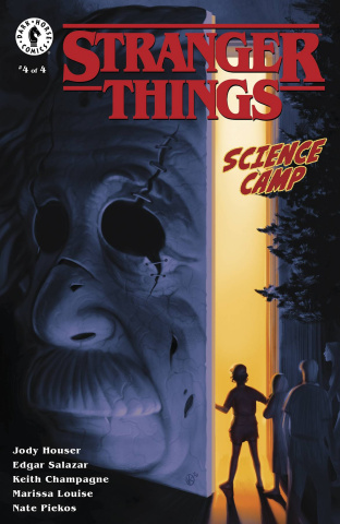 Stranger Things: Science Camp #4 (Kalvachev Cover)