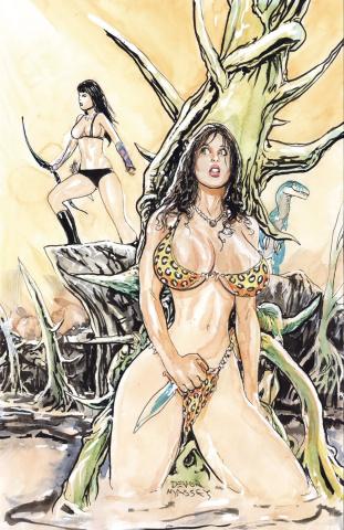Cavewoman: Raptorella's Revenge #2 (Massey Cover)