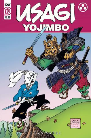 Usagi Yojimbo #10 (Sakai Cover)
