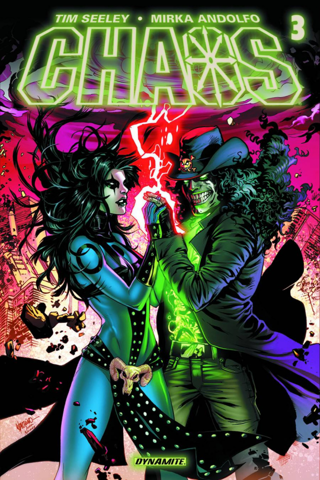 Chaos #3 (Lupacchino Cover)