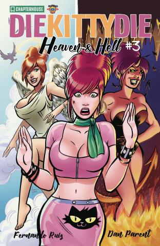 Die Kitty, Die! Heaven & Hell #3 (Ruiz Cover)