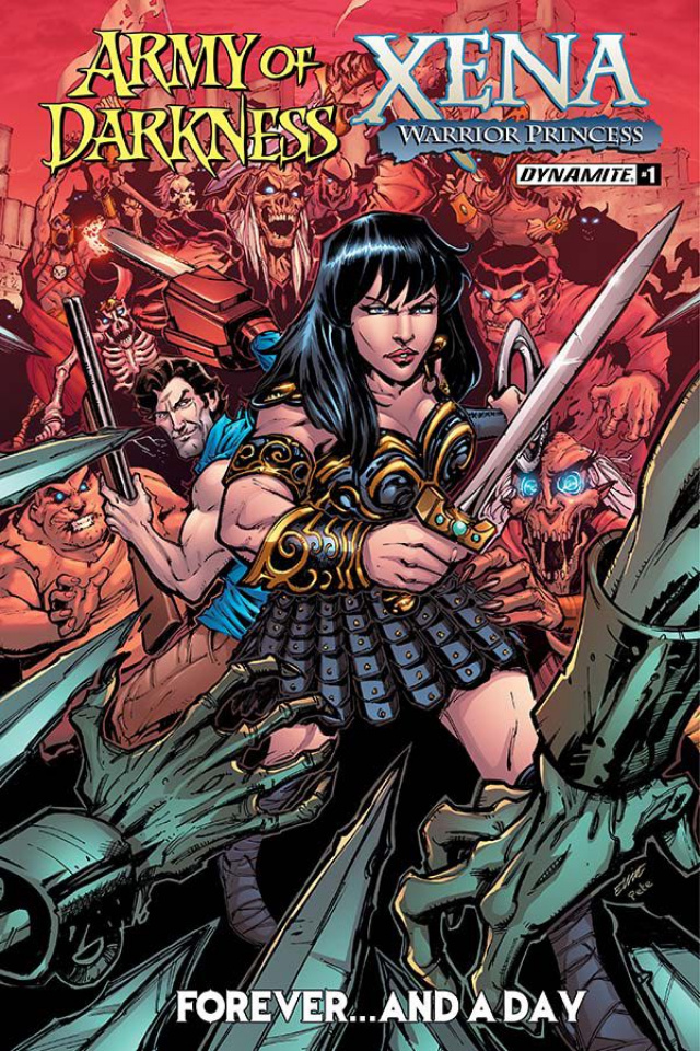 Army of Darkness / Xena: Forever... And a Day #1 (Fernandez Cover)