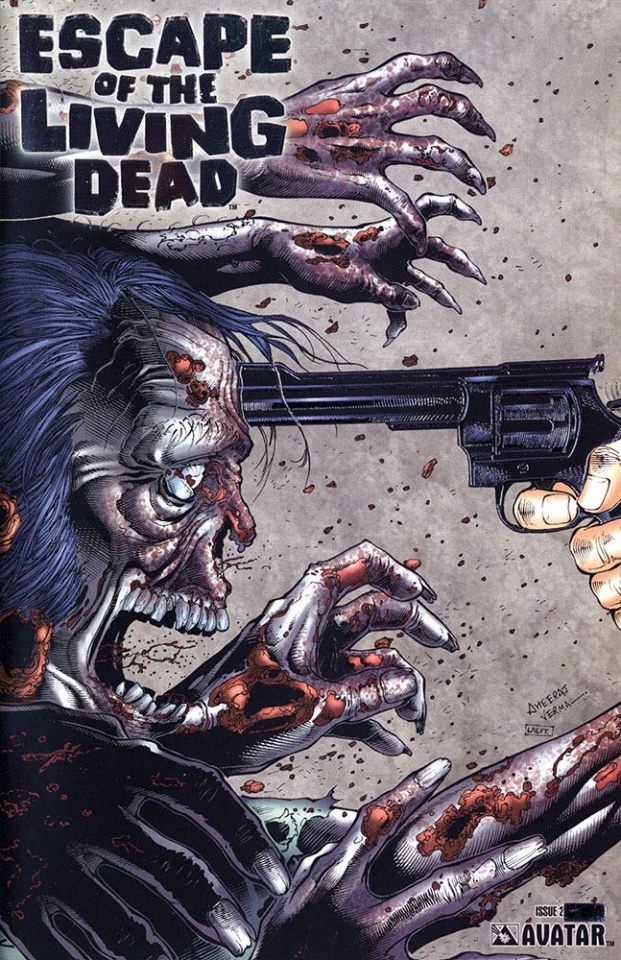 Escape of the Living Dead #2 (Platinum Foil Cover)
