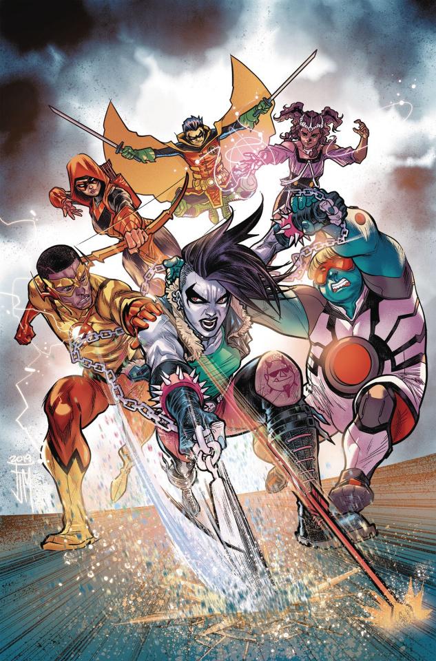 Teen Titans #34 (Year of the Villain)
