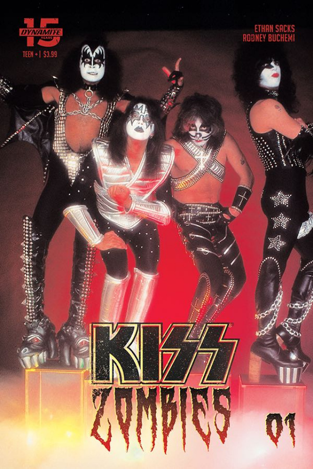 KISS: Zombies #1 (Photo Cover)