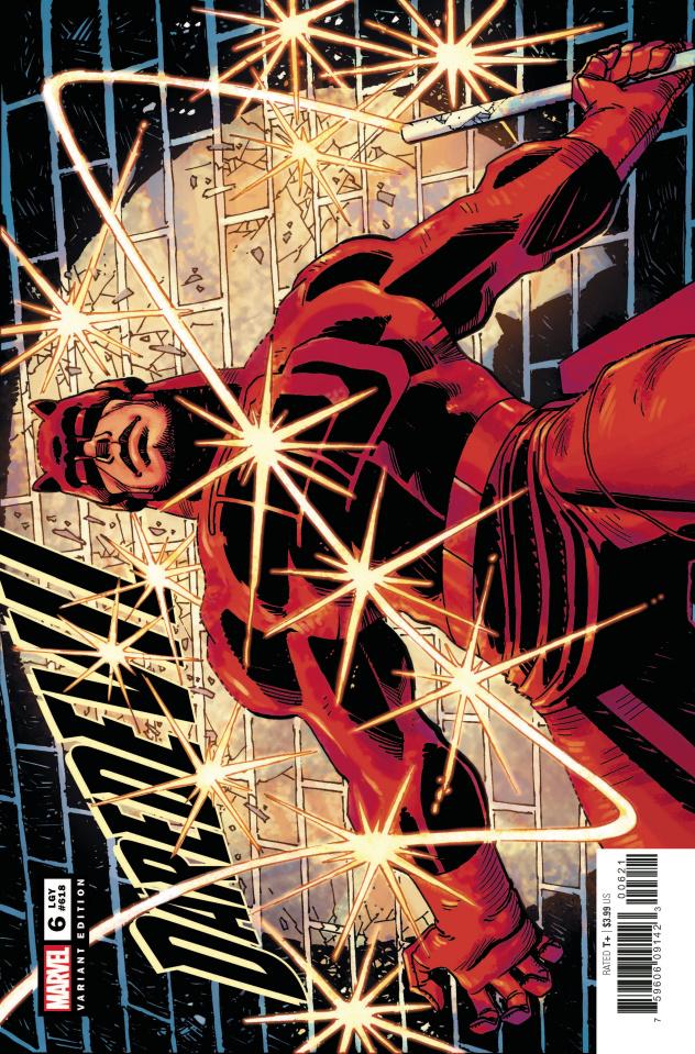 Daredevil #6 (JRJR Hidden Gem Cover)