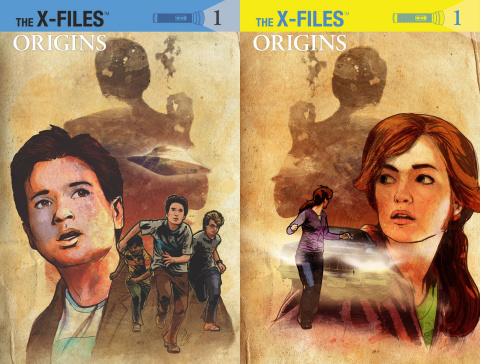The X-Files: Origins #1 (Subscription Cover)
