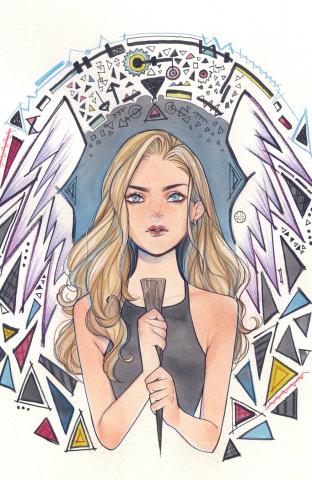 Buffy the Vampire Slayer #19 (Carey Fire Cover)