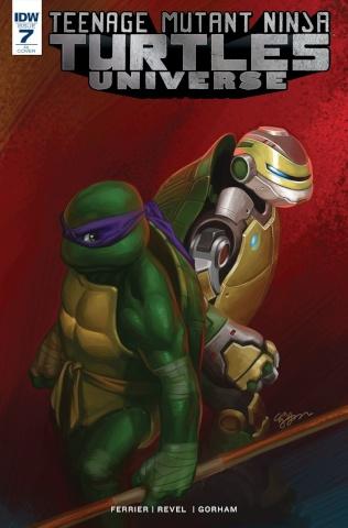 Teenage Mutant Ninja Turtles Universe #7 (10 Copy Cover)