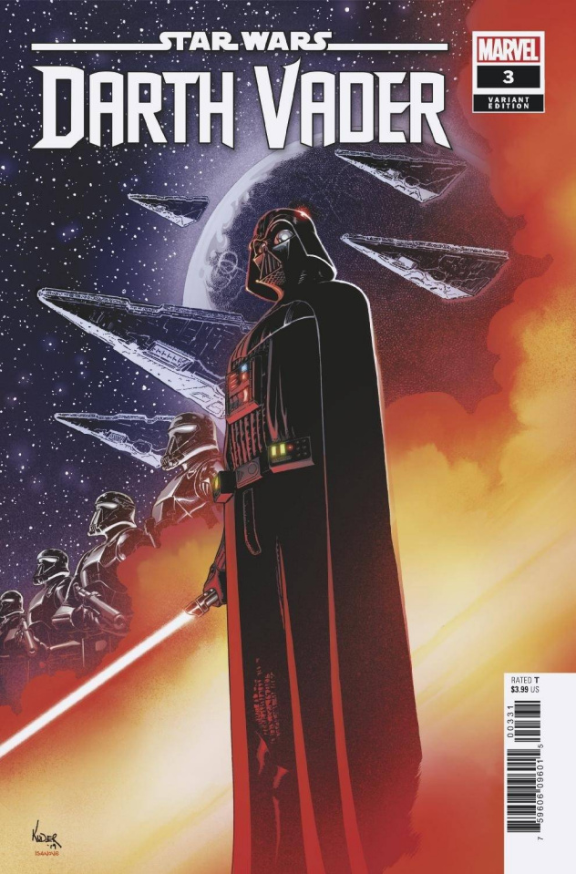 Star Wars: Darth Vader #3 (Kuder Cover)