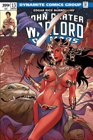John Carter: Warlord of Mars #13 (Lupacchino Cover)
