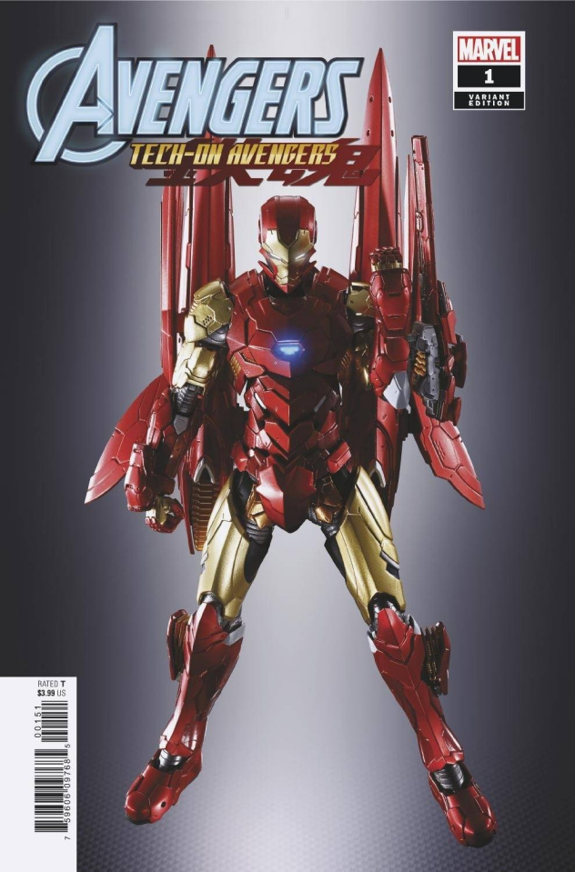 Avengers: Tech-On #1 (Toy Cover)