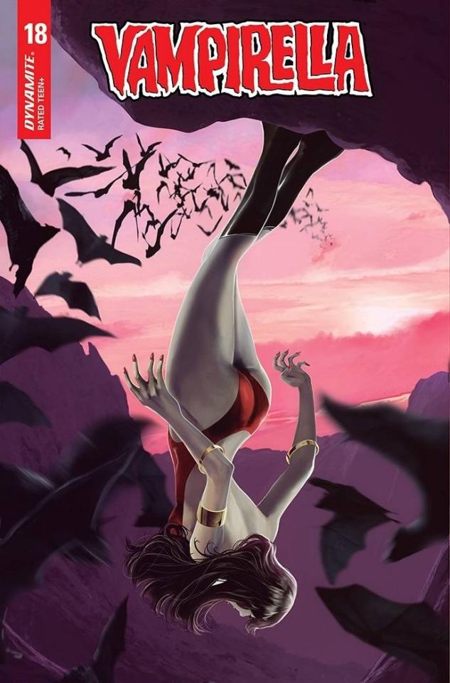 Vampirella #18 (Maine Bonus Cover)