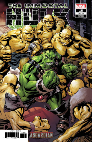 The Immortal Hulk #16 (McKone Asgardian Cover)