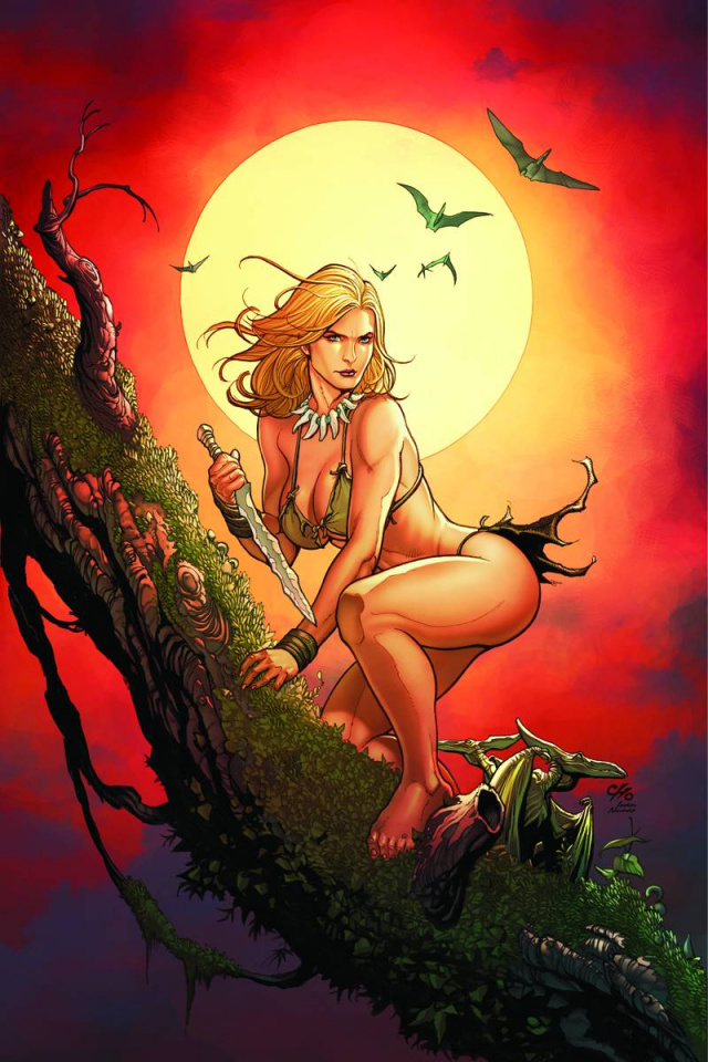 Jungle Girl, Season 3 #2 (20 Copy Cho Virgin Cover)