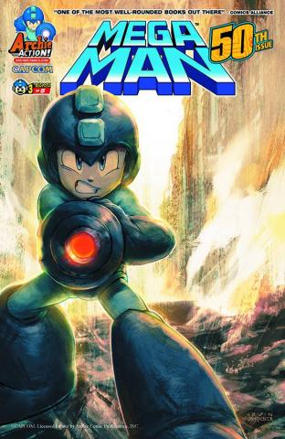 Mega Man #50 (Irvin Rodriguez Cover)