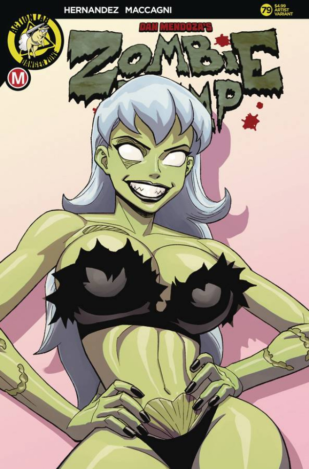 Zombie Tramp #79 (Young Cover)