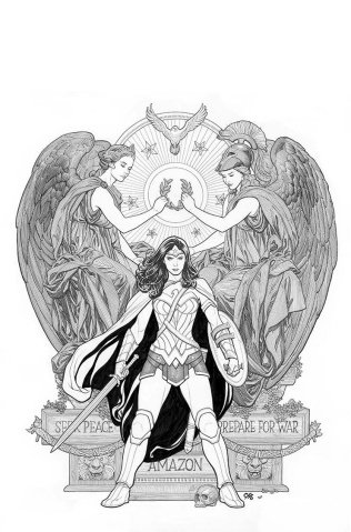 Wonder Woman #4 (Variant Cover)