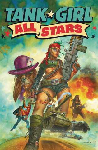 Tank Girl All Stars #4 (Staples Cover)