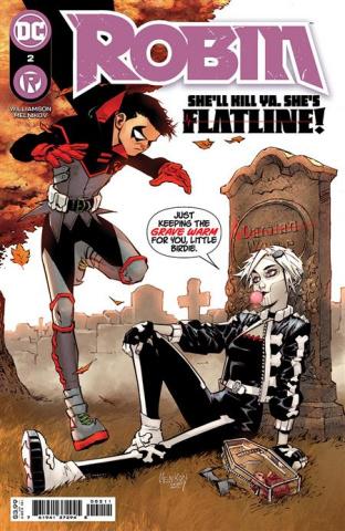 Robin #2 (Gleb Melnikov Cover)