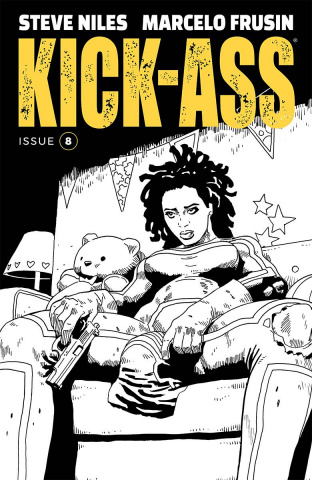 Kick-Ass #8 (Frusin Cover)