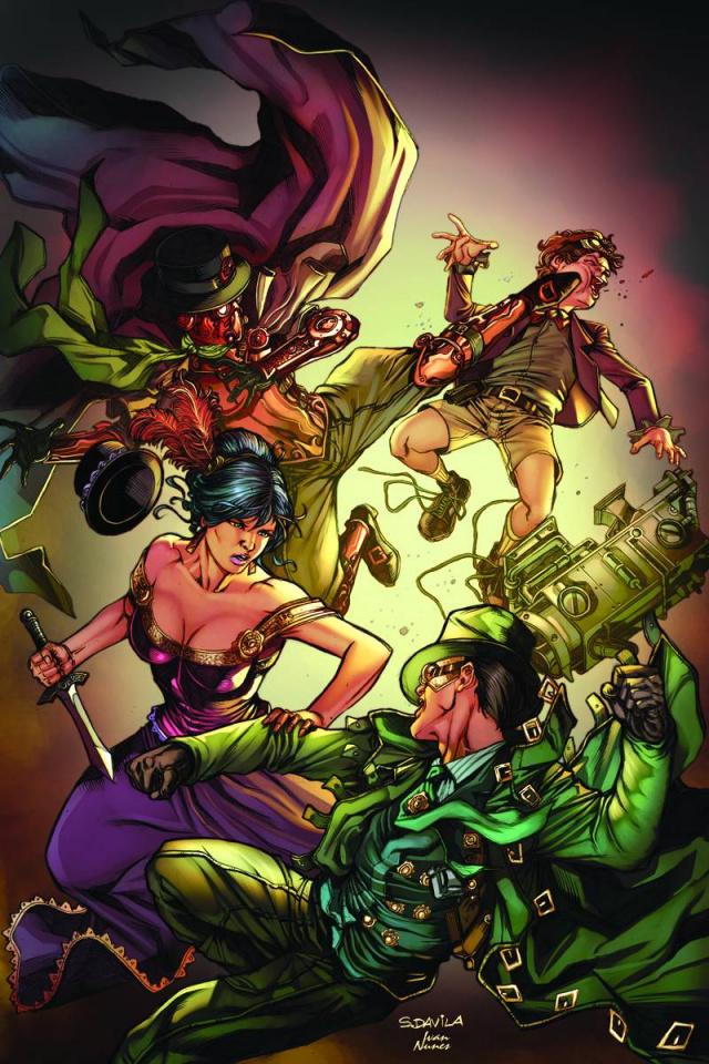 Legenderry: Green Hornet #4 (Rare Davila Virgin Cover)