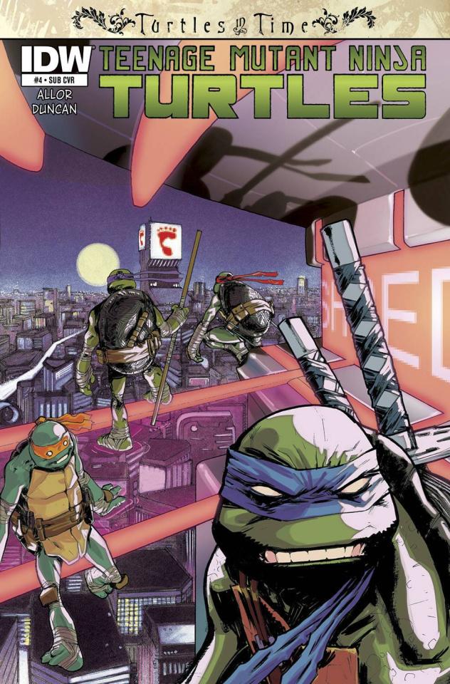 Teenage Mutant Ninja Turtles: Turtles in Time #4 (Subscription Cover)