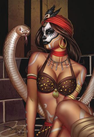 Zodiac #3 (Santacruz Cover)