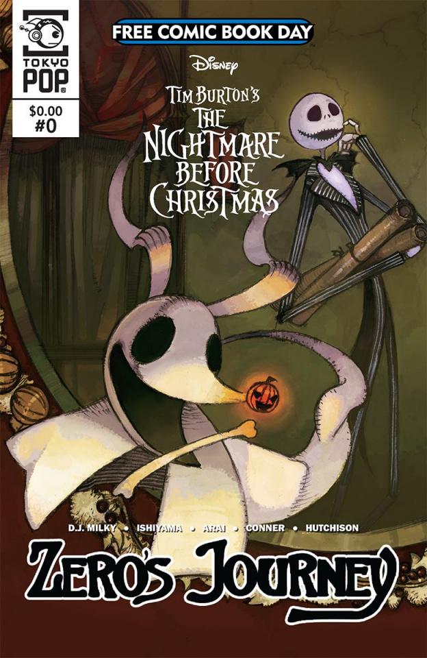 The Nightmare Before Christmas: Zero's Journey #0 (FCBD 2018 Special)