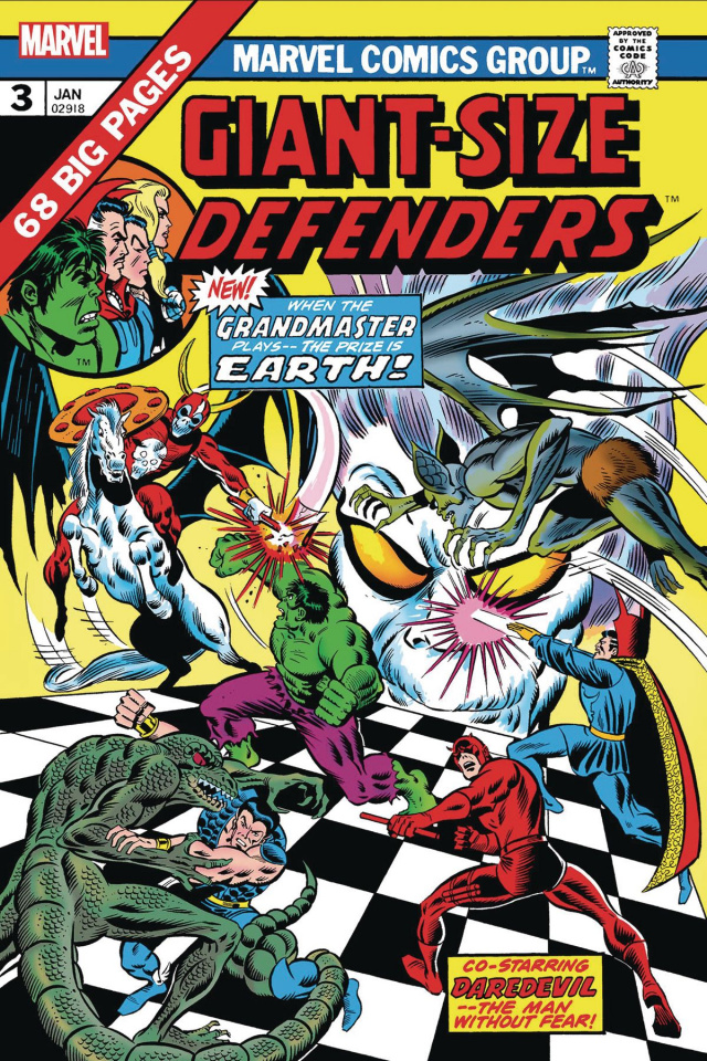 Giant-Size Defenders #3 (Facsimile Edition)